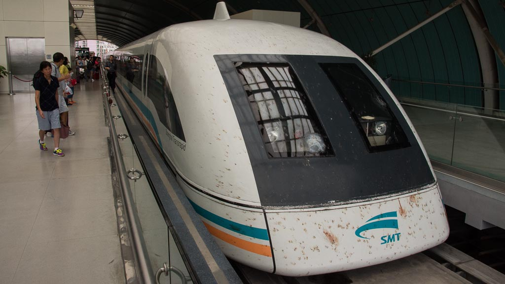 Transrapid Shanghai Schnellster Zug Der Welt Im Retro Look Anders