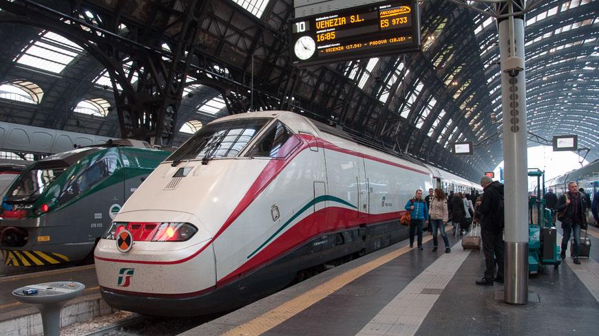 Frecciarossa in Italien, aber nicht im Bahnreiseblog