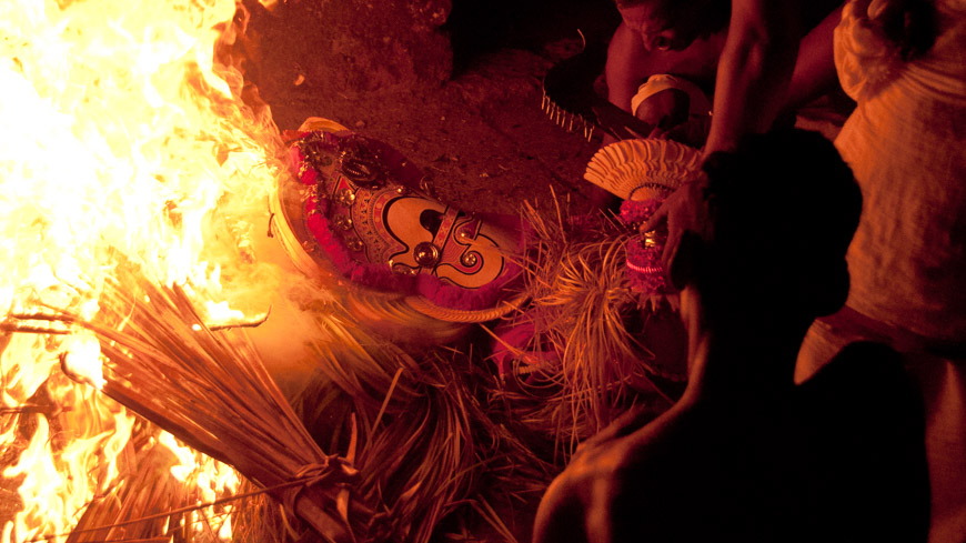 Theyyam Ritual in Indien