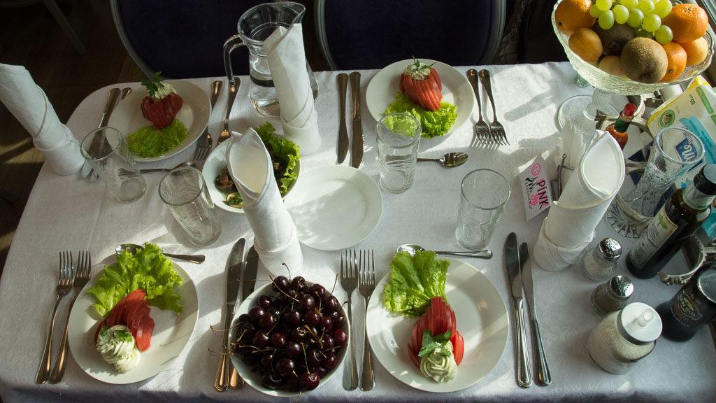 Essen im Zarengold (Transsibirische Eisenbahn)