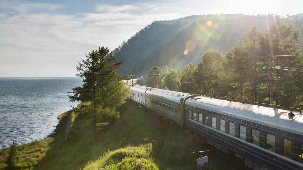 Zarengold am Baikalsee (Transsibirische Eisenbahn)