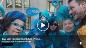 Live-Video VDE8 Eröffnungsfahrt aus Erfurt