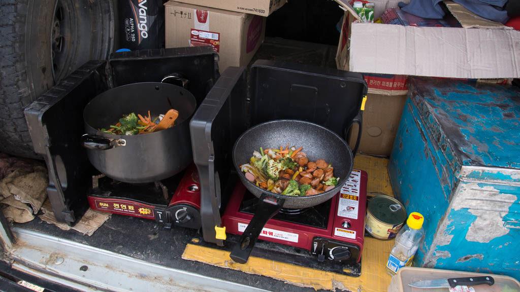 Mittagessen Mongolei-Tour