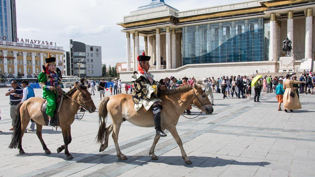 Naadam Fest in der Mongolei
