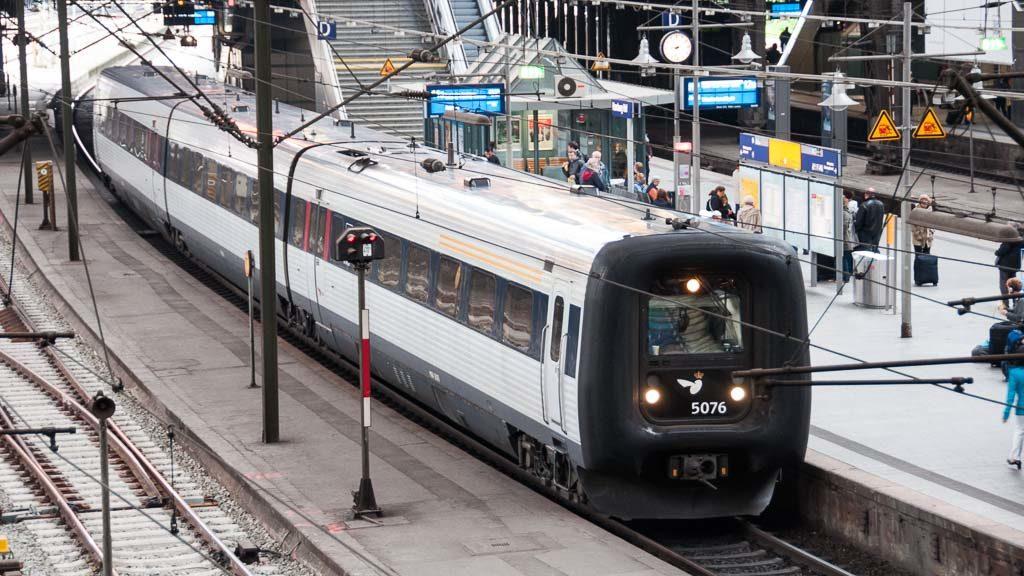 Zug nach Kopenhagen