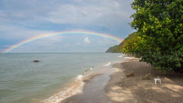 Regenbogen auf Koh Chang