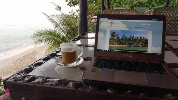 Reiseblogger-Tag im Beach-Office