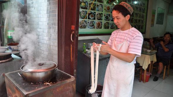 Chinesische Nudelküche