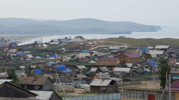 Chuschir auf der Insel Olchon am Baikalsee