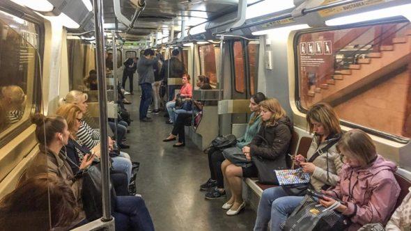 Metro-Zug Moskau