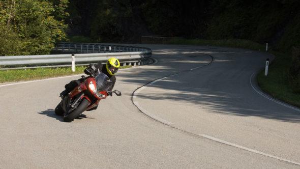 Motorradstrecke Hochkönig Straße
