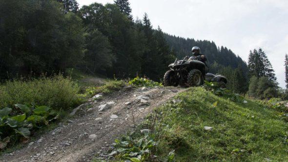 Quad fahren in Saalbach-Hinterglemm