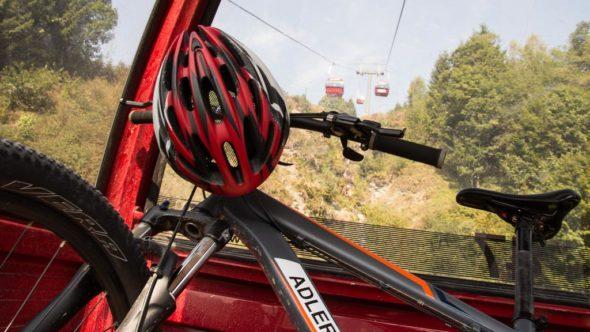Fahrrad in der Reiterkogelbahn Hinterglemm