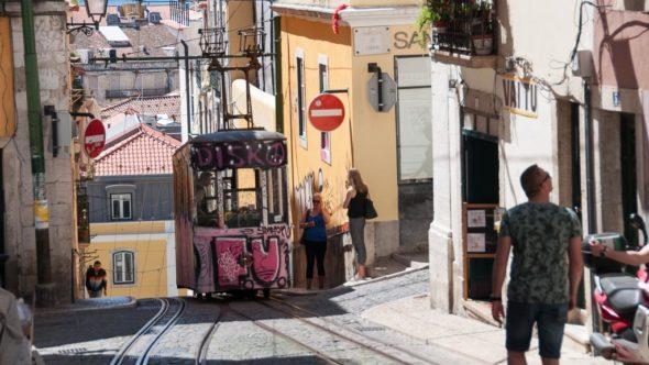 Bica-Tram in Lissabon
