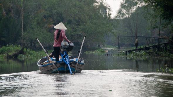 Das Mekong Delta in Vietnam ist als Gebiet mit hohem Malaria Risiko ausgewiesen