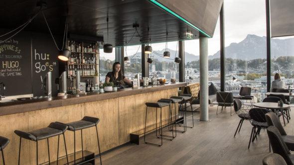 Hugoes Bar im Arte Hotel Salzburg