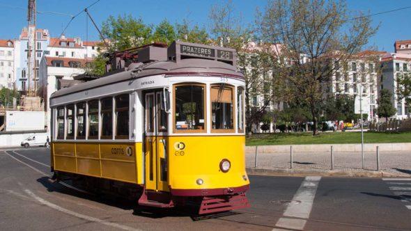 Linie 28 der Straßenbahn Lissabon