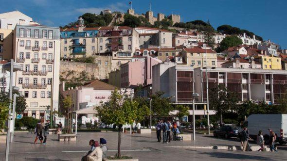 Martim Moniz in Lissabon: Beginn und Ende unserer Tram-Tour
