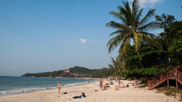 Mückenschutz ist im Urlaub wichtig.