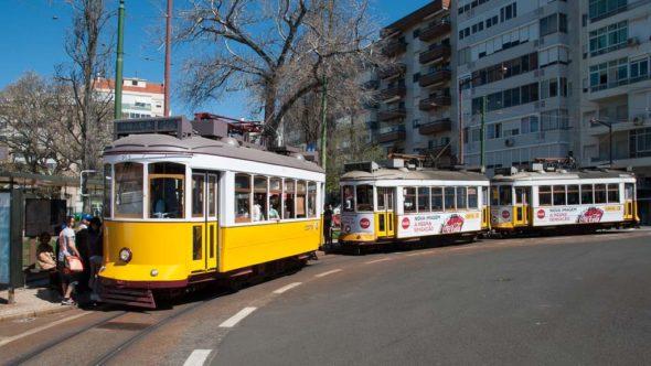 Strassenbahn Linie 28 Lissabon