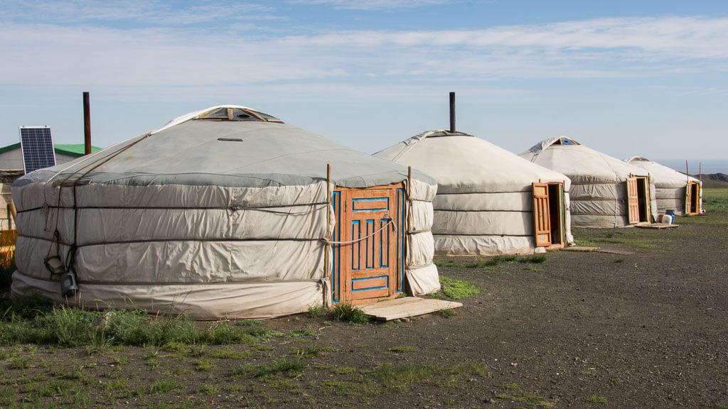 In Asien außergewöhnlich übernachten: In der Jurte (Mongolei)