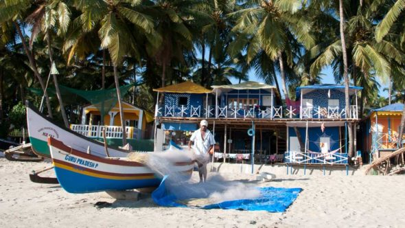 In Asien außergewöhnlich übernachten: Am Strand