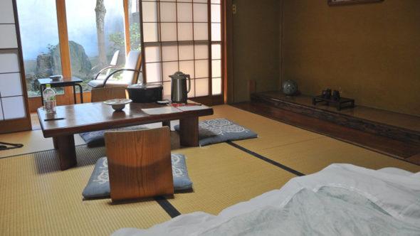 In Asien landestypisch übernachten, z.B. in einem Ryokan in Japan