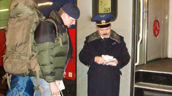Der Beginn meiner ersten Transsibirische Eisenbahn Reise