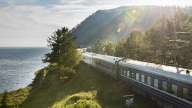 Transsibirische Eisenbahn Show von Reiseblogger Gerhard Liebenberger alias Andersreisender
