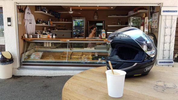 Motorrad-Stopp: Roadhouse Chiemsee