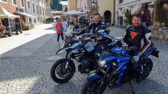 Motorradtour Berchtesgaden