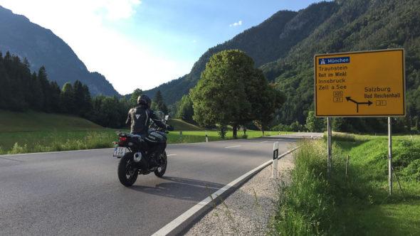 Motorradtour Berchtesgadener Land