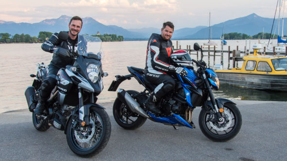 Motorradtour: Chiemsee in Gstadt