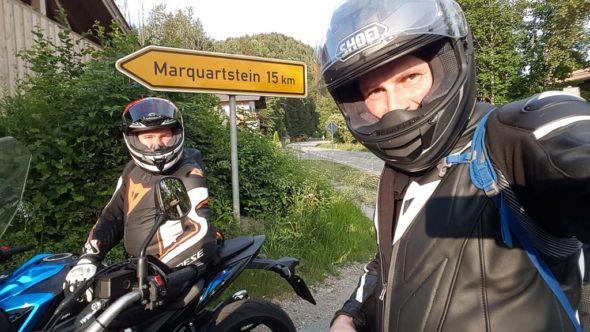 Motorradtour Richtung Marquartstein, Bayern
