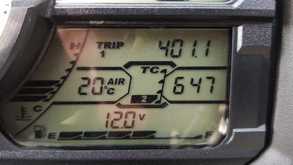 Suzuki V-Strom 1000 Traktionskontrolle (Suzuki Traction Control System - STCS)