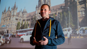 Gerhard Liebenberger live in der Multimedia Show Bild: (c) Albert Moser