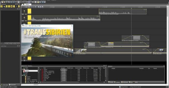 Multimediashow Produktion