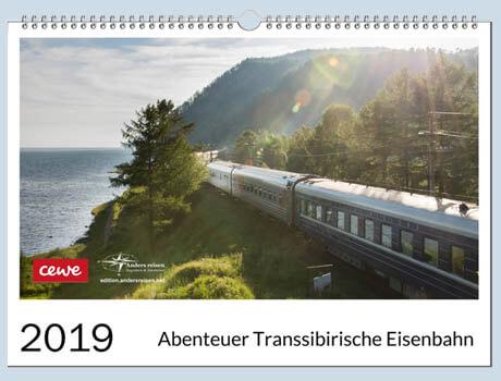 Kalender Transsibirische Eisenbahn 2019