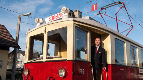 Salzburger Lokalbahn Nostalgiezug im Advent