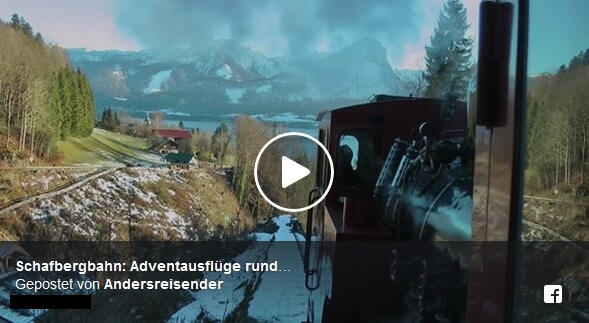 Video Schafbergbahn im Advent