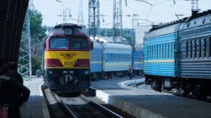 Zug in der Ukraine