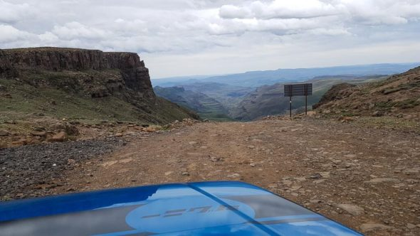 Auto in Lesotho am Sanipass