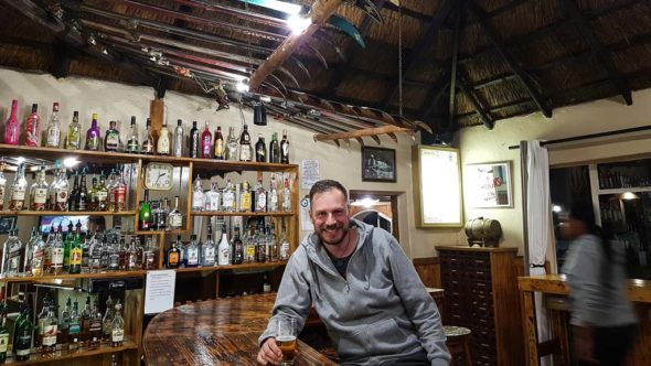 Bar in der New Oxbow Lodge in Lesotho