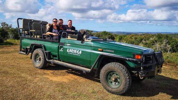 Meine erste Safari in Südafrika