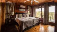 Kariega Game Reserve Chalet Schlafzimmer