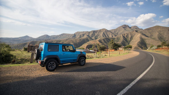 Roadtrip durch Lesotho mit dem Suzuki Jimny