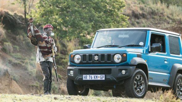 Suzuki Jimny am Roadtrip durch Lesotho