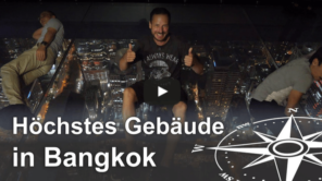 Top Aussicht auf Bangkok vom Mahanakhon Skywalk (Video)
