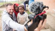 Kinder in Elundini, Südafrika