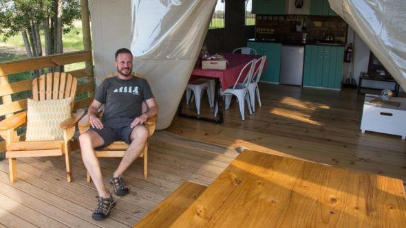 Gerhard Liebenberger alias Andersreisender in Südafrika